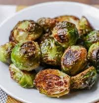 Sea Salt & Olive Oil Roasted Brussel Sprouts Image