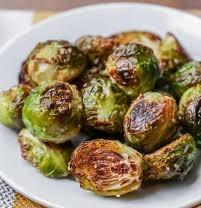 Sea Salt & Olive Oil Roasted Brussel Sprouts Image