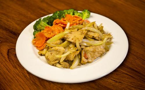 Garlic Stir-Fried Image