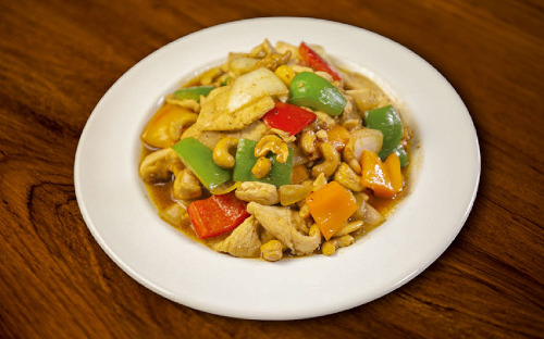 Cashew Nuts Stir-Fried