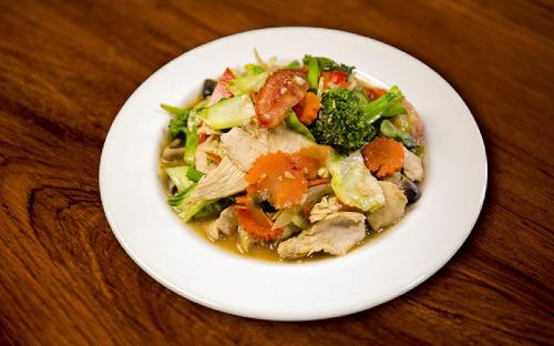 Stir-Fried Mixed Vegetables Image