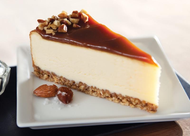 "9"" Salted Caramel Cheesecake (Frozen) Image"