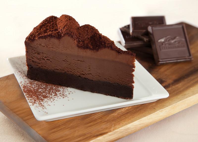 "9"" Chocolate Fudge Cheesecake Made with Ghiradelli® (Frozen) Image"