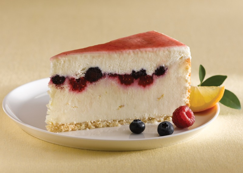 "10"" Lemon Mixed Berry Cheesecake (Frozen) Image"