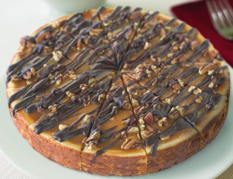 7'' Turtle Cheesecake (Frozen) Image