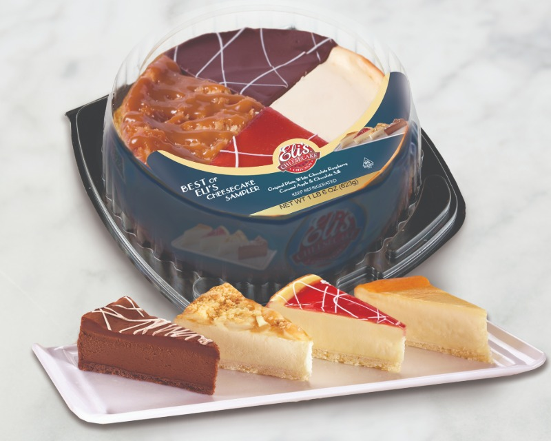 """Sweet Imperfection Sale: 7"""" Best of Eli's Cheesecake Sampler Image"""