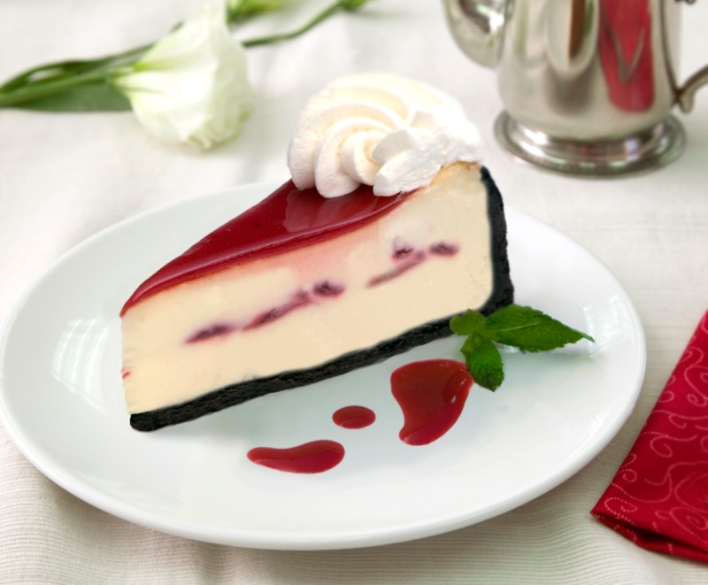 "10"" White Chocolate Raspberry Image"