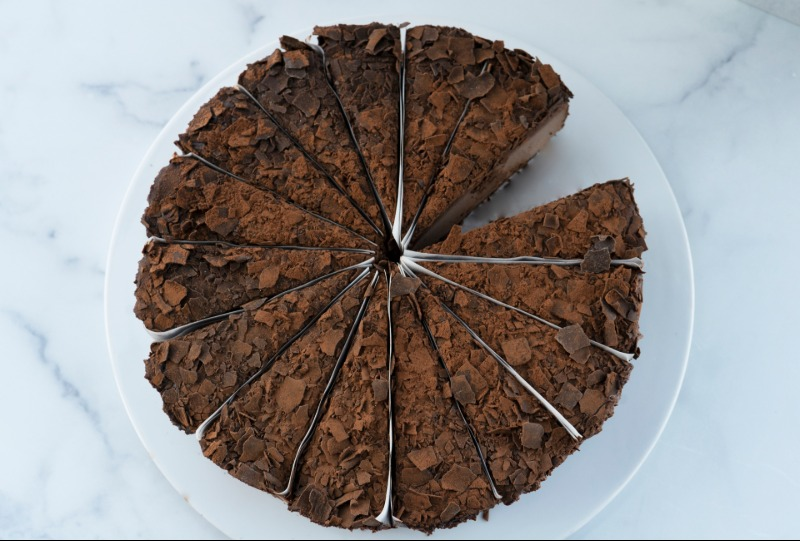 "10"" Frango® Mint Chocolate Cheesecake (ONLINE EXCLUSIVE) Image"