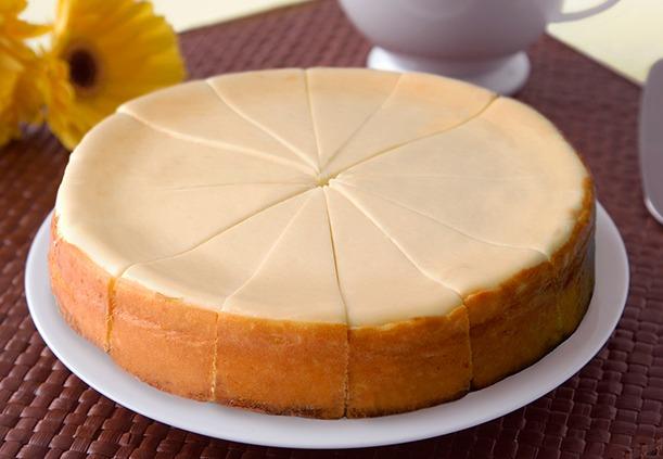 "Sweet Imperfection 7"" Original Plain Cheesecake Image"