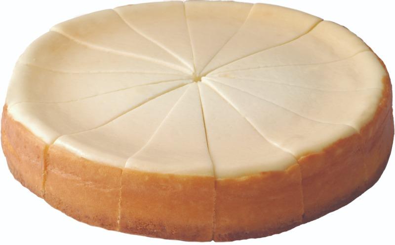 "8"" Original Plain Cheesecake Image"