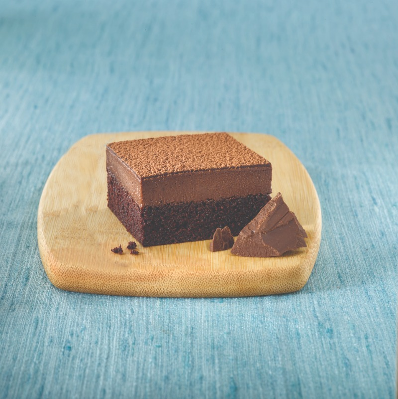 Vegan Dairy-Free Belgian Chocolate Cheesecake Tray Image