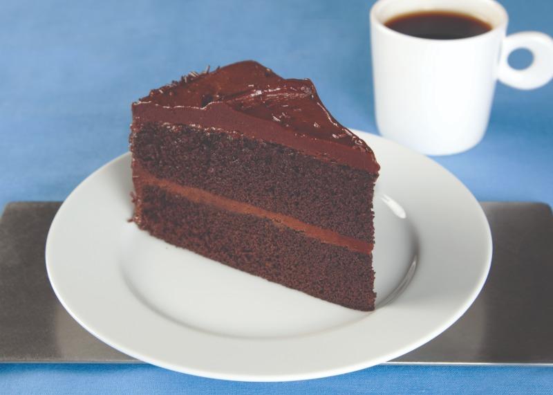 "8"" Chocolate Cake Image"