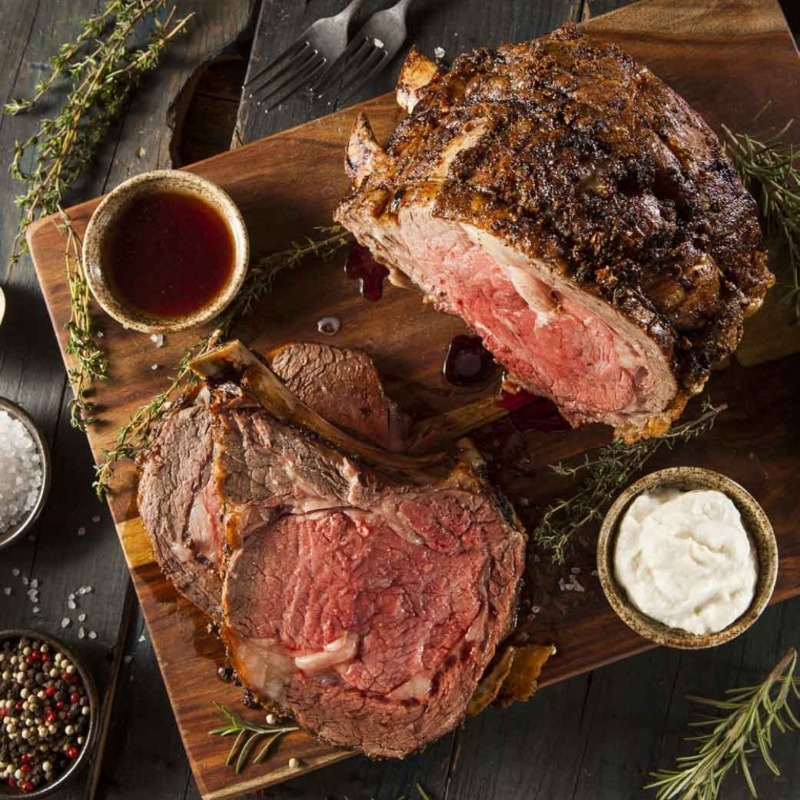 SATURDAY SPECIAL: SMOKED PRIME RIB Image