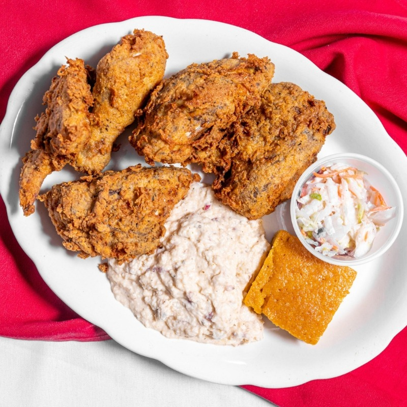 5 PIECE FRIED CHICKEN DINNER