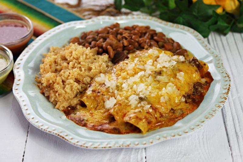 Monday Special - Chicken Enchiladas Image