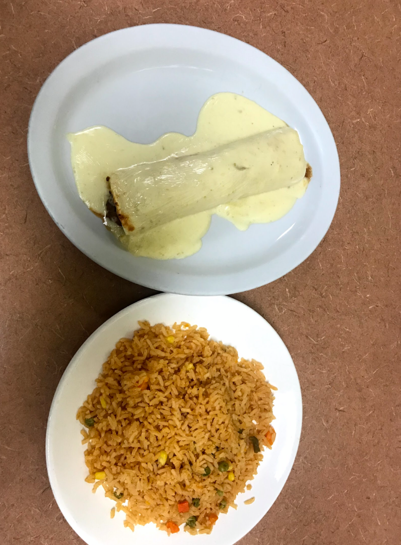 Burrito Solitario (Lunch Special) Image