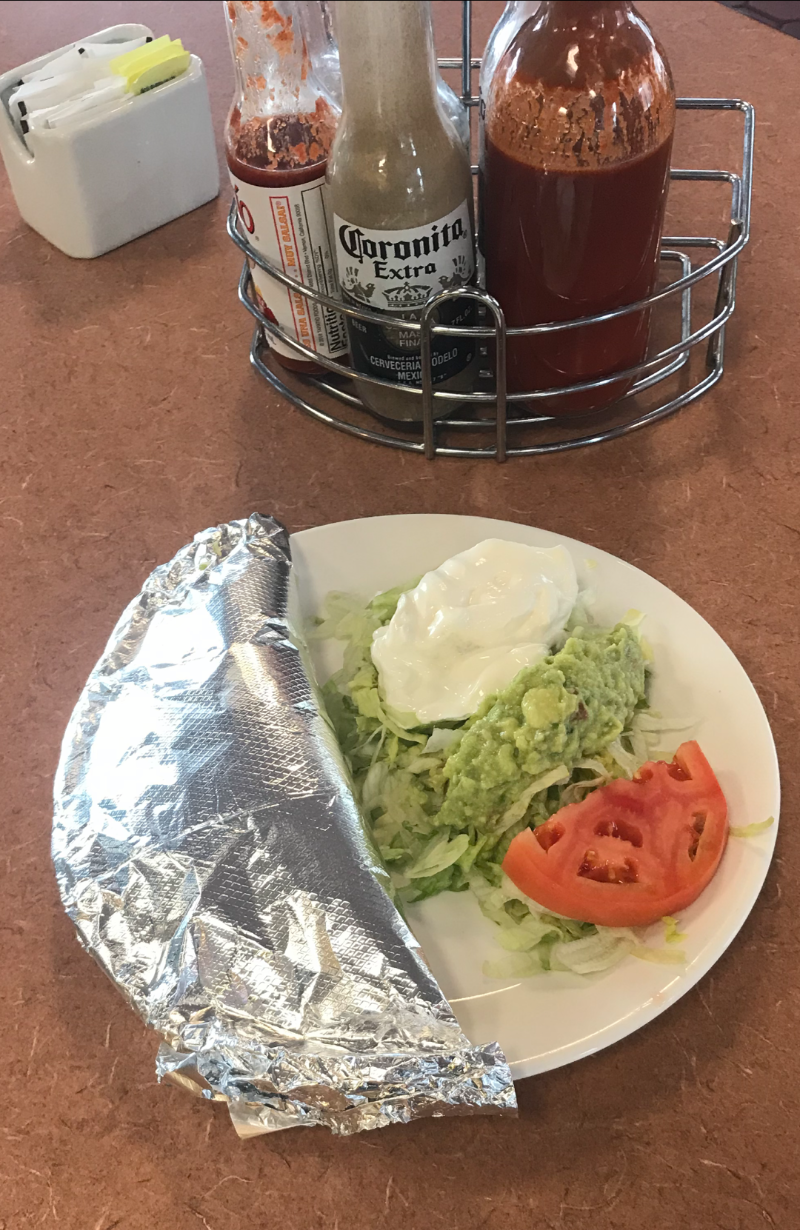 Burrito Fiesta (Grilled Lunch Special) Image