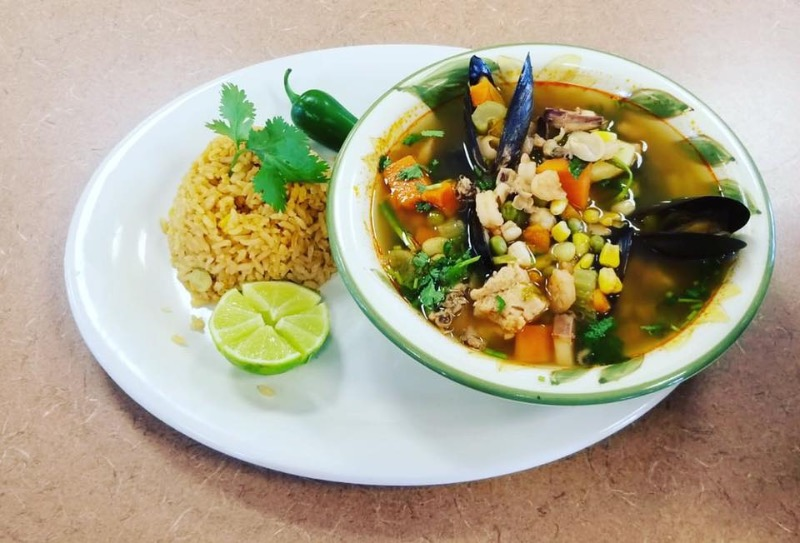 "Seafood ""Siete Mares"" Soup Image"