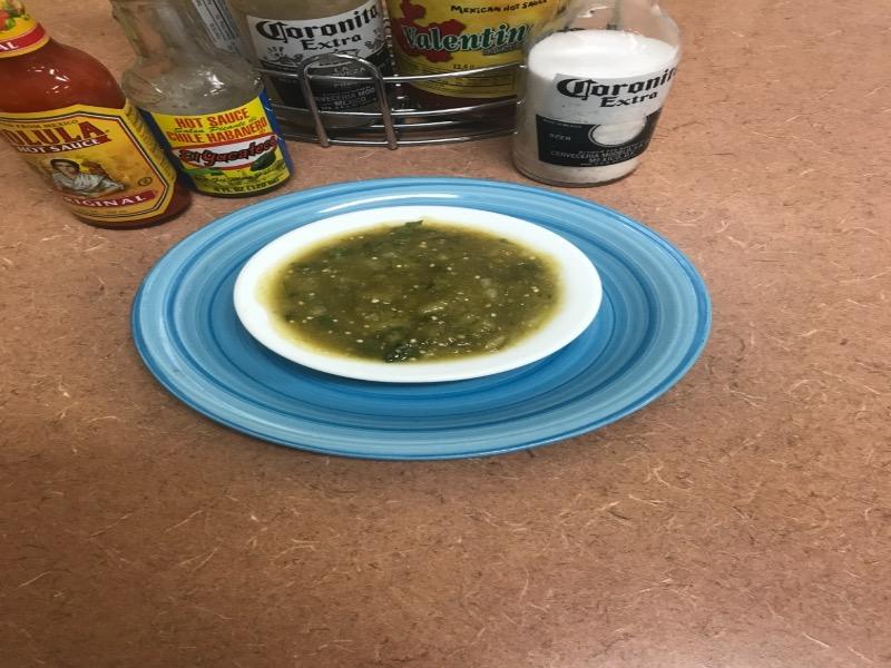 Green Hot Salsa Image