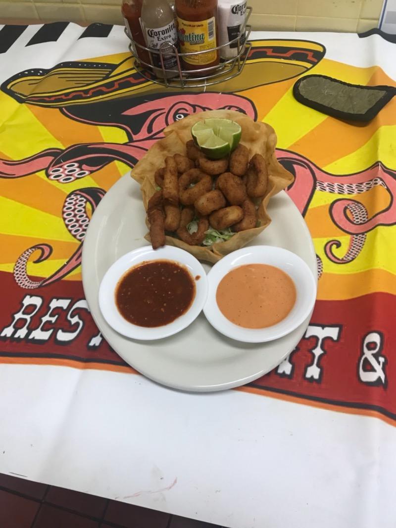 Mexican Style Calamari Image