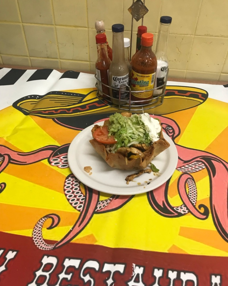 Fajita Taco Salad Image