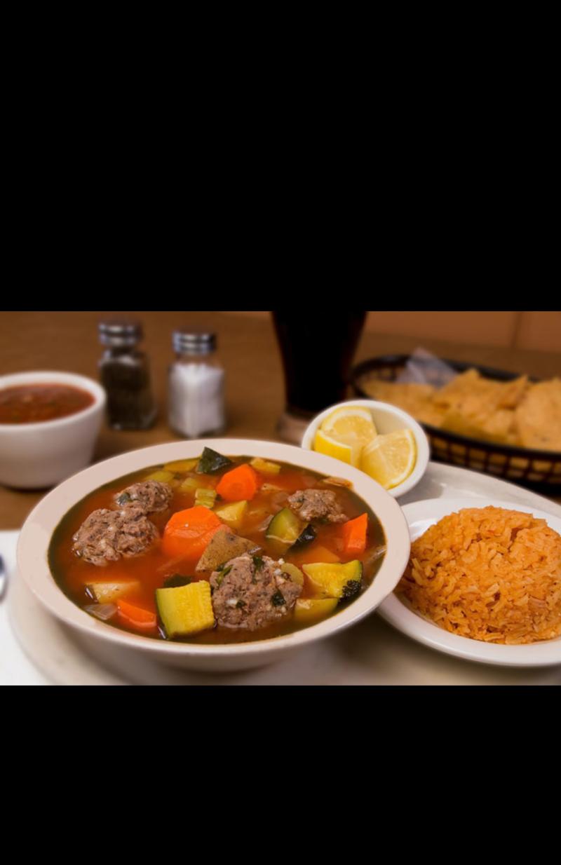 "Meatball ""Albondigas"" Soup Image"