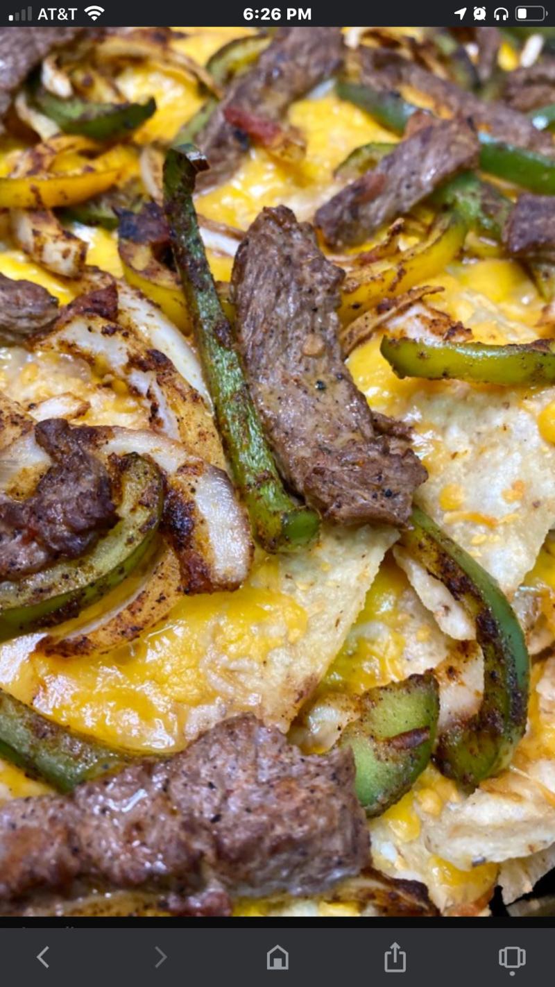Fajita Nachos Grilled Special Image