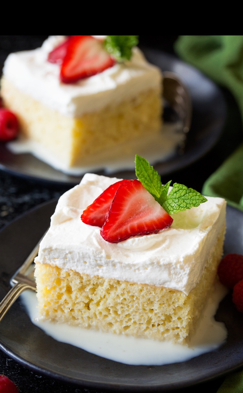 Tres Leches Cake Image