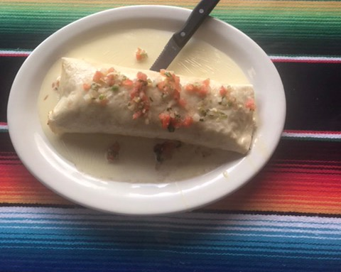 Burrito Pulpo Image