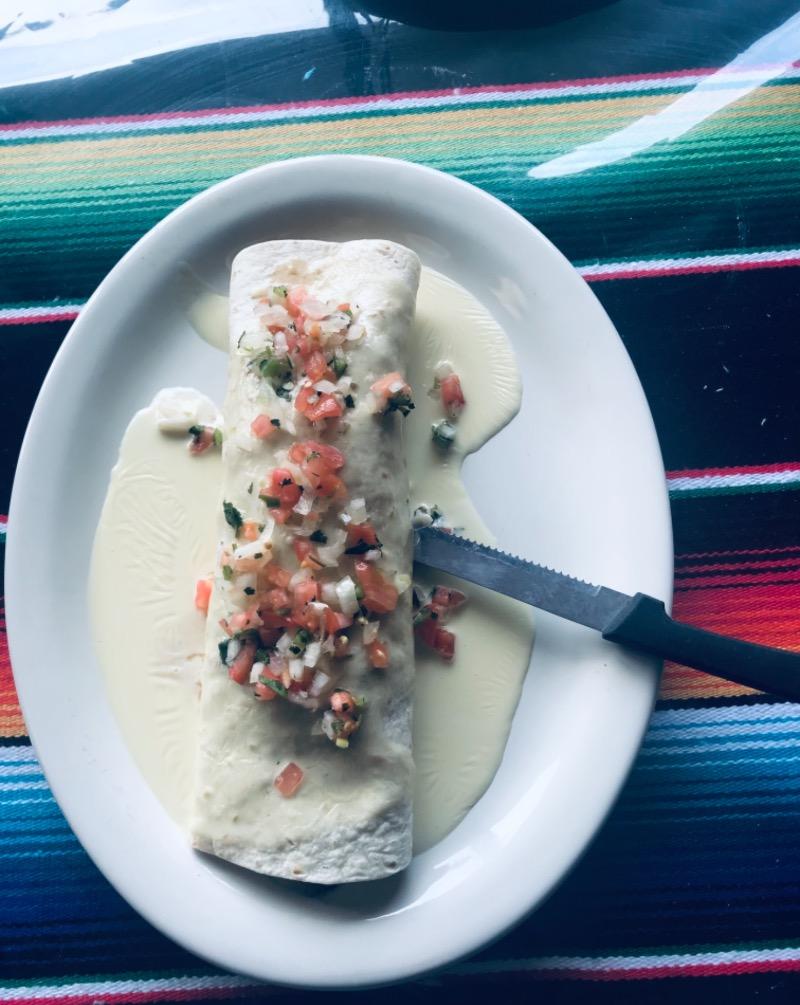Burrito del Mar Special