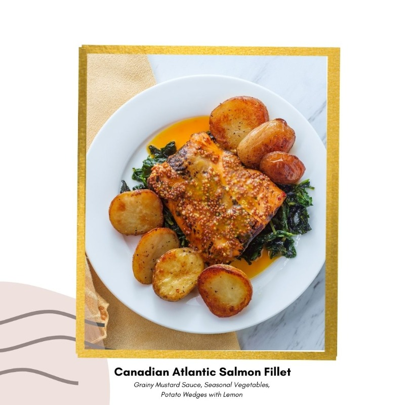 Canadian Atlantic Salmon Fillet  With Maple Butter Image