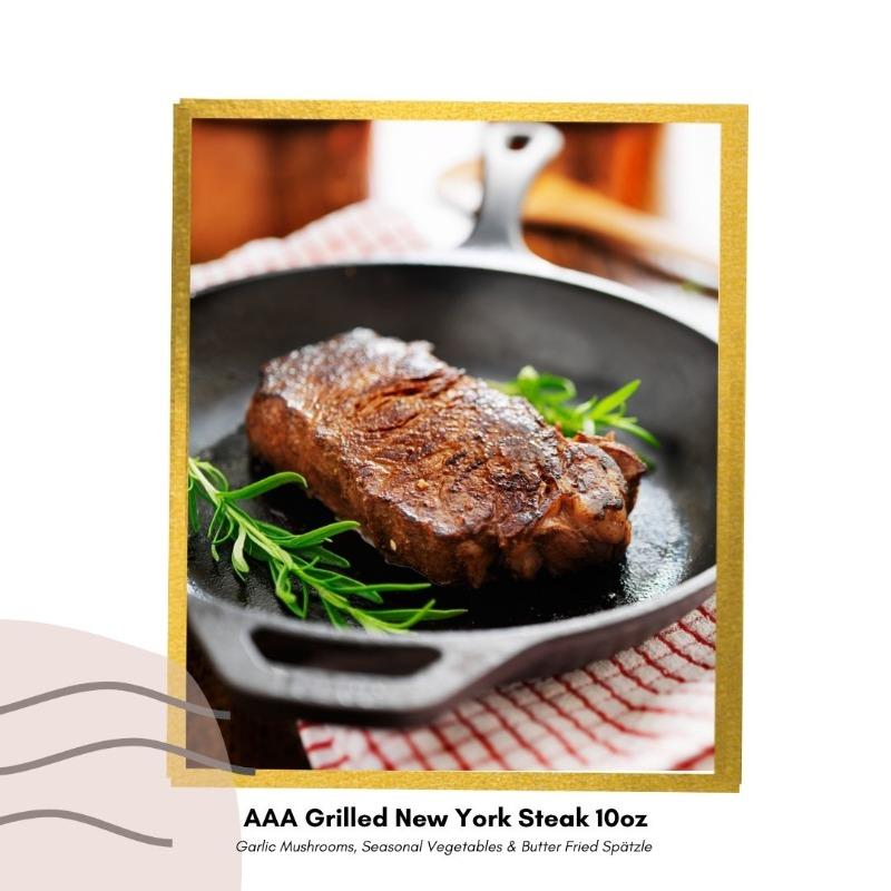 AAA Grilled New York Steak 10oz Image