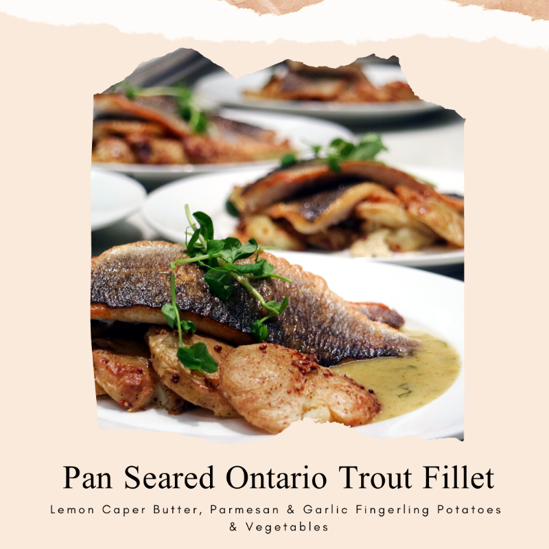 Pan Seared Ontario Trout Fillet Image