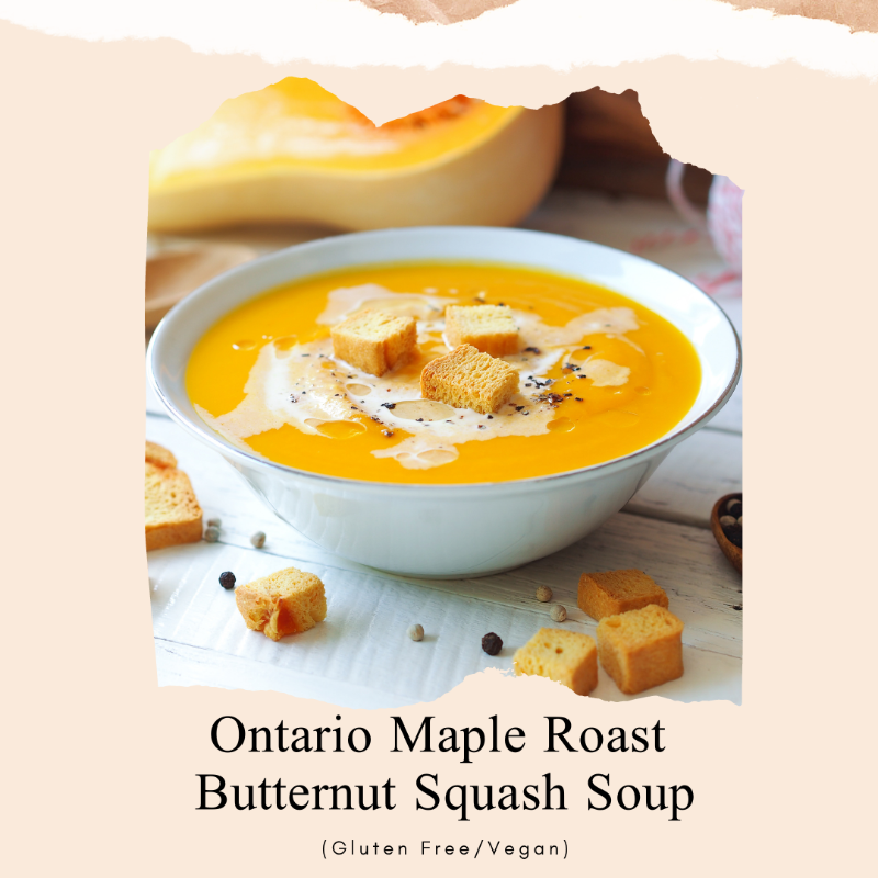 Ontario Maple Roast Butternut Squash Soup Image