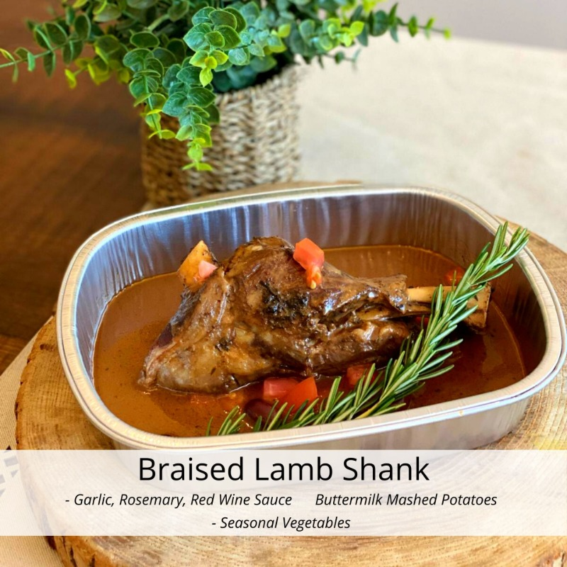Braised Lamb Shank Image