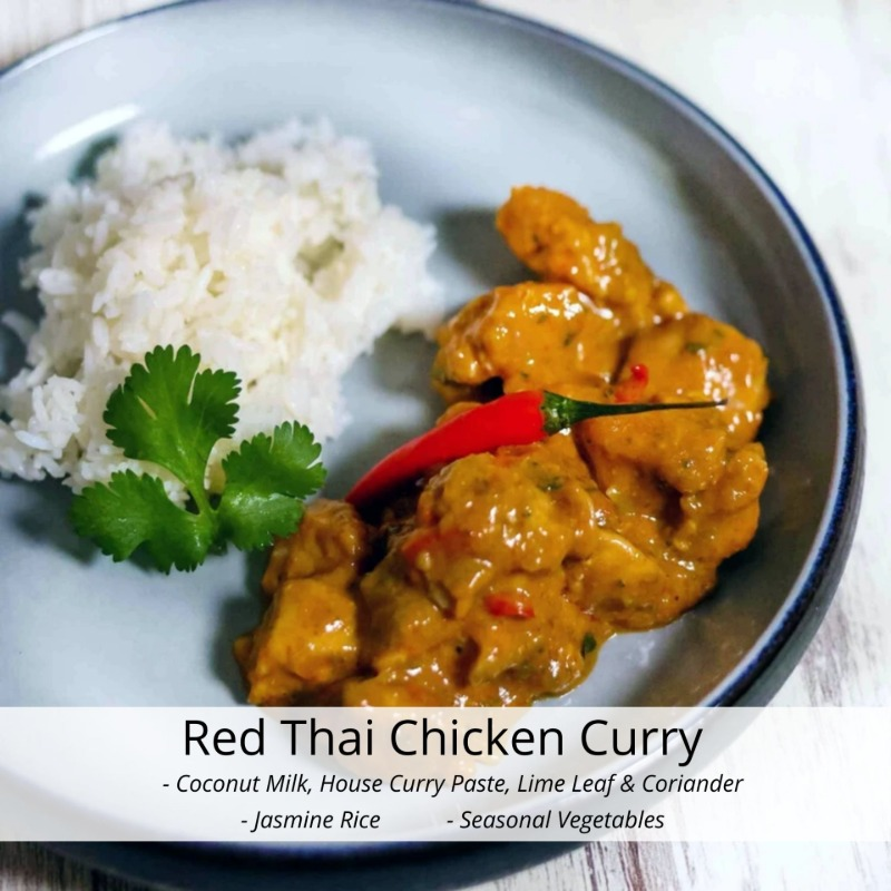 Red Thai Chicken Curry Image