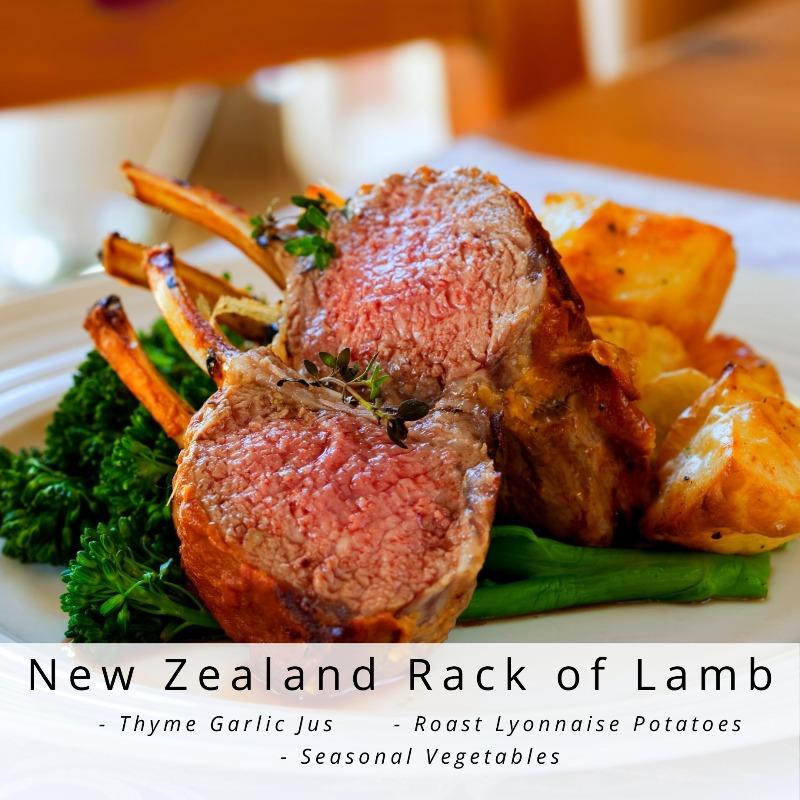 New Zealand Rack of Lamb