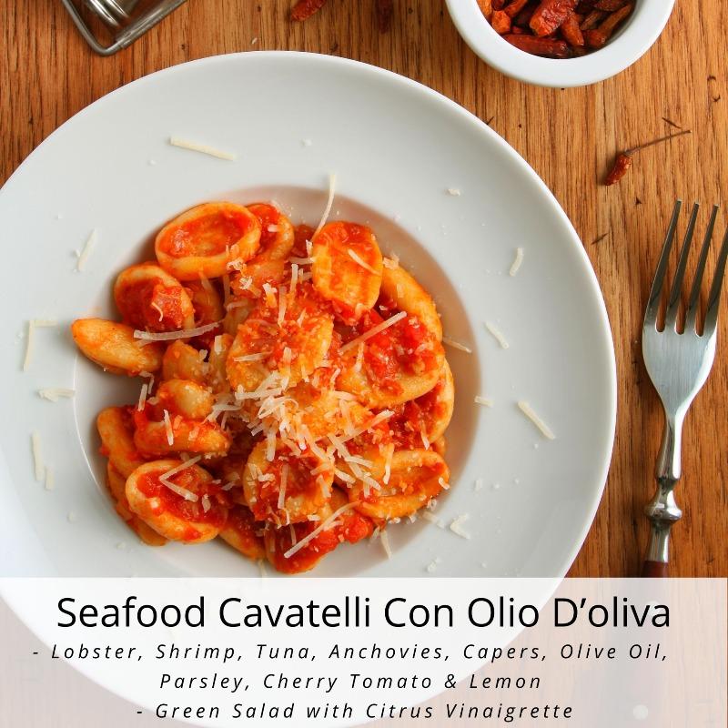 Seafood Cavatelli Con Olio D'oliva Image