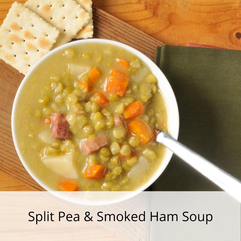 Split Pea & Smoked Ham Soup Image