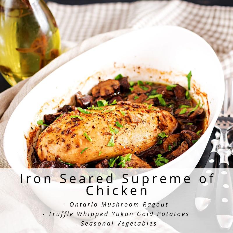 Iron Seared Supreme of Chicken Image