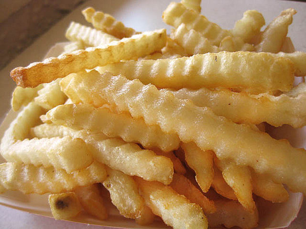 French Fries Crinkle Cut Image