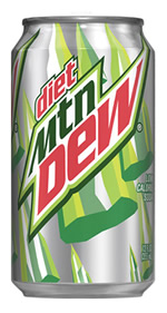 Diet Mtn Dew Can