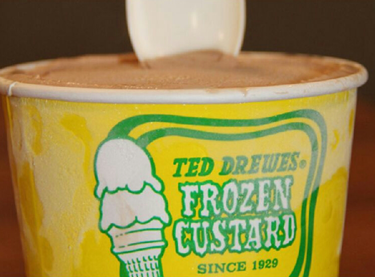 Ted Drewes Chocolate Mini Image