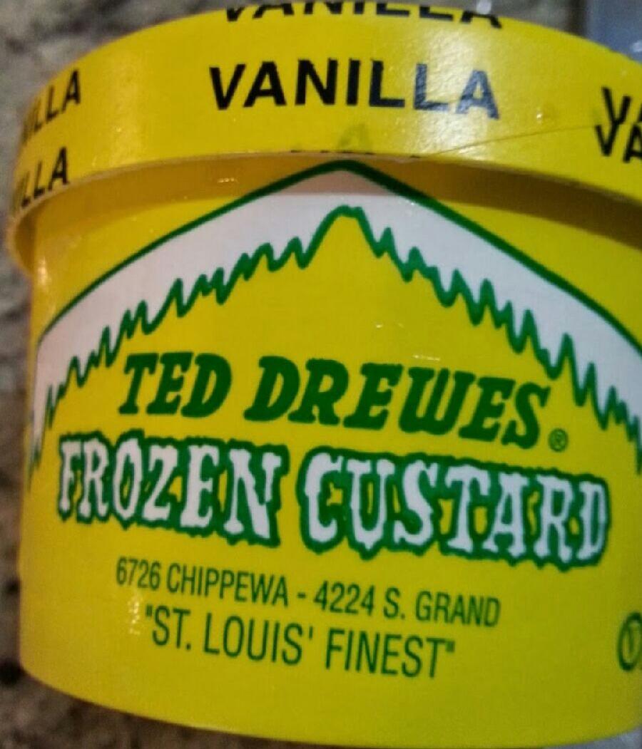 Ted Drewes Vanilla Mini
