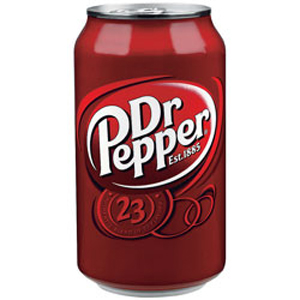 Dr. Pepper Can Image