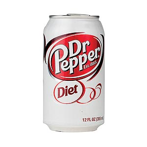 Diet Dr. Pepper Can