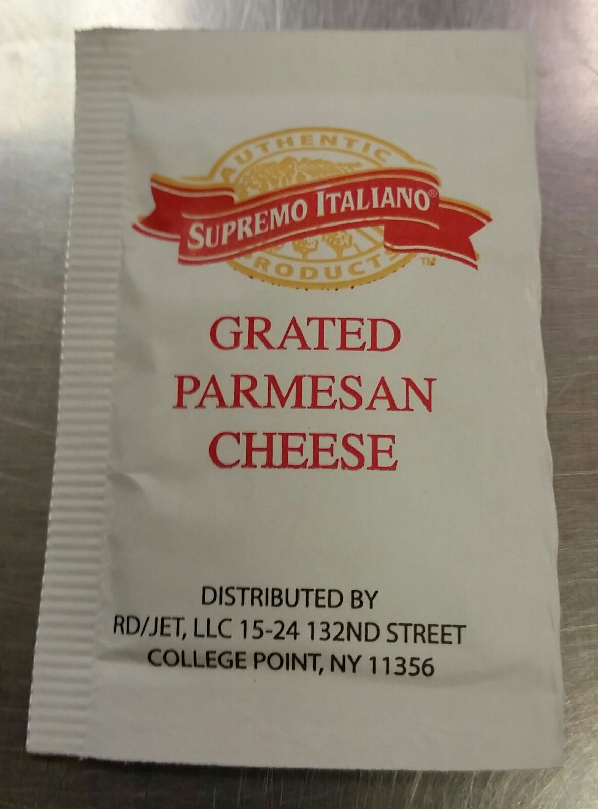 Parmesan Packet Image