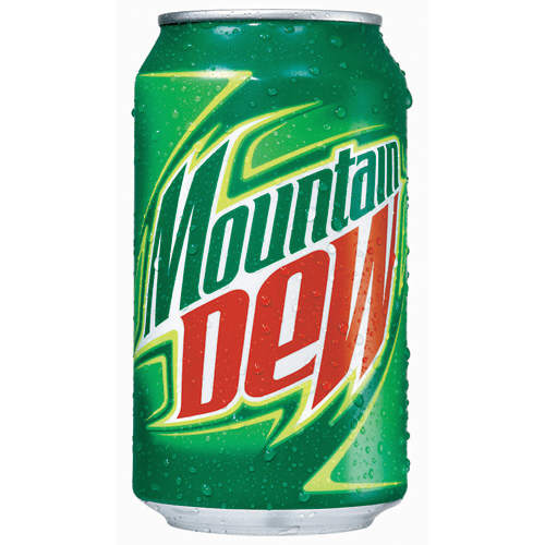 Mountain Dew Can Image