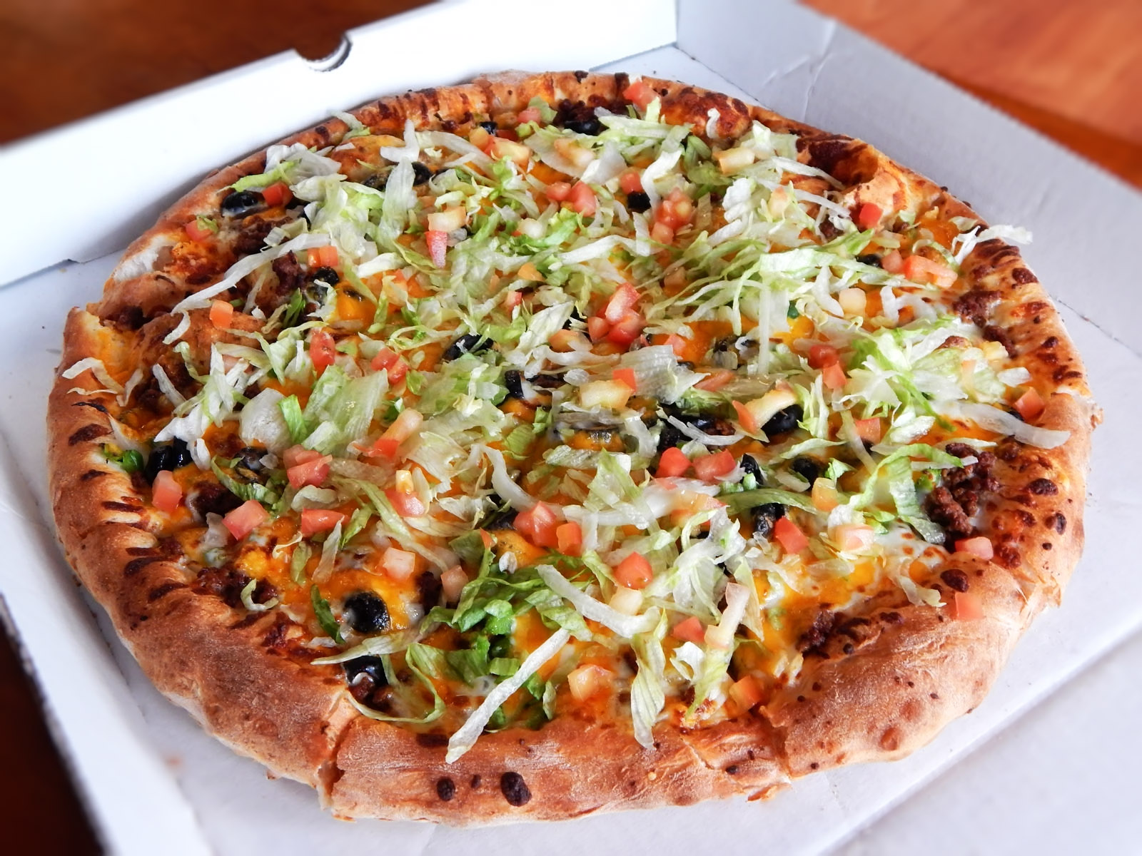 Mexican Pizza Image
