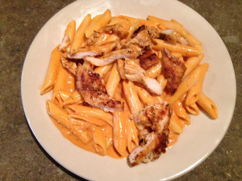 Chicken Penne Vodka Image
